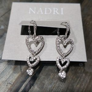 Nadri earrings VALENTINES DAY FEB 14❤❤❤❤❤❤